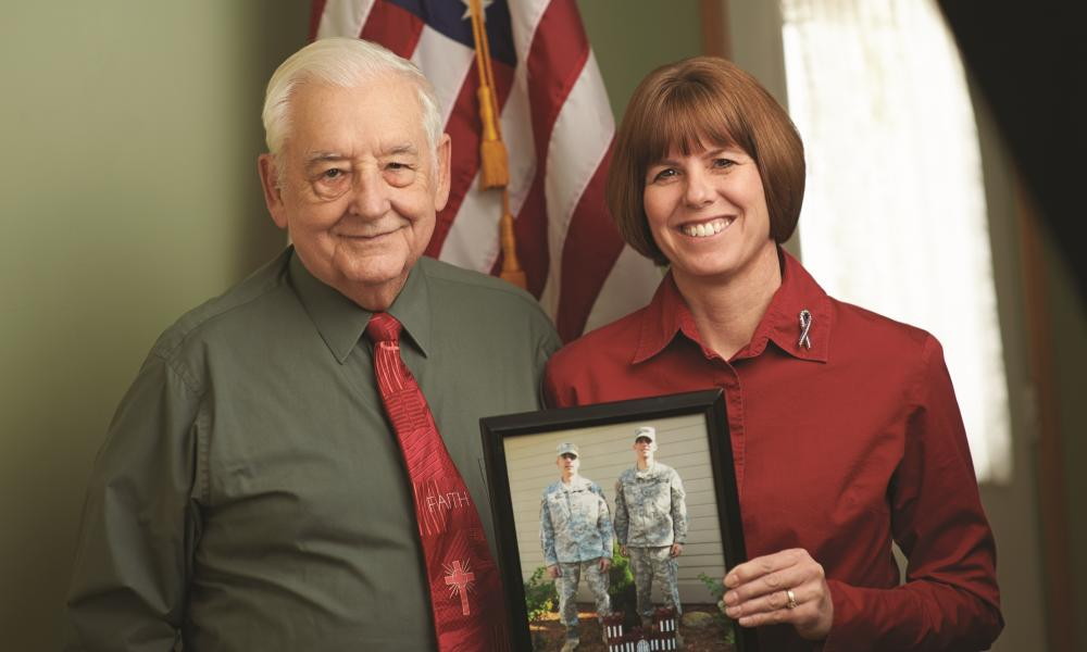 Serving their Country, Serving God, Three Generations of a Military Family