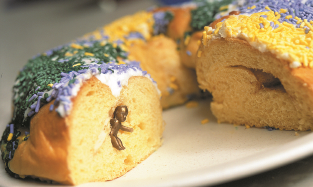 Feasting on a King's Cake