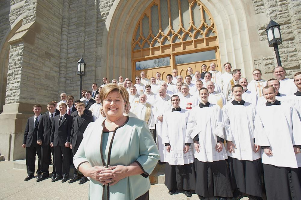 For Diocese of Lansing seminarians, Jane is a 'second mom'