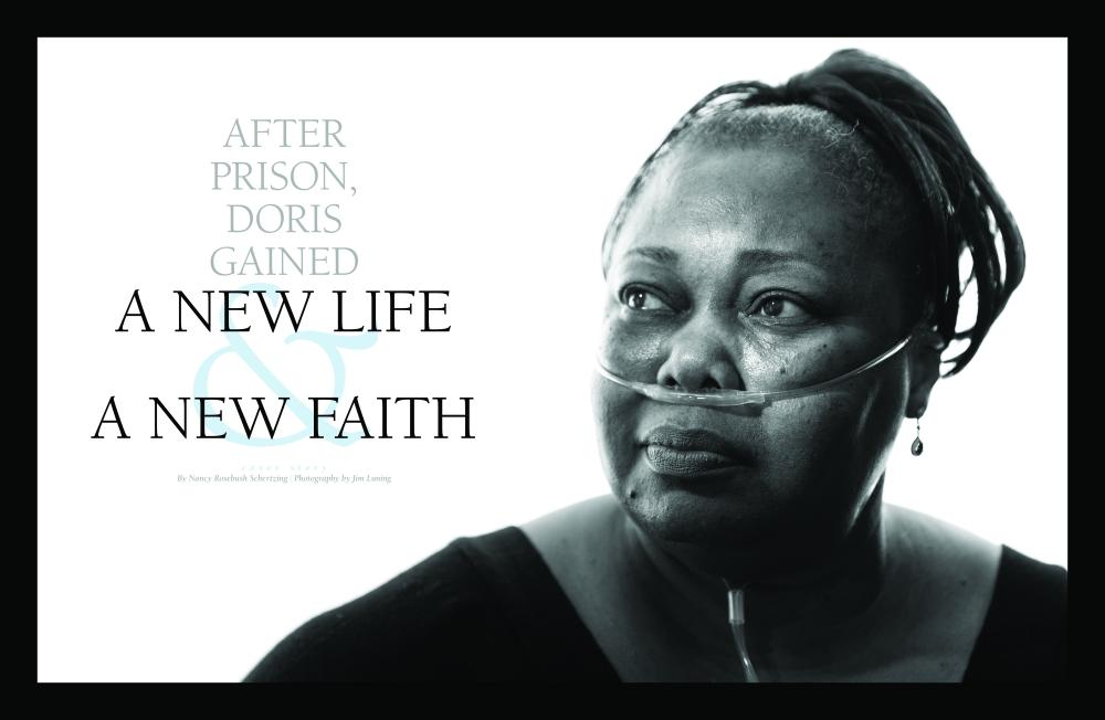After prison, Doris gained a new life and a new faith