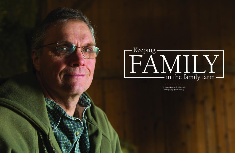 Keeping Family in the Family Farm