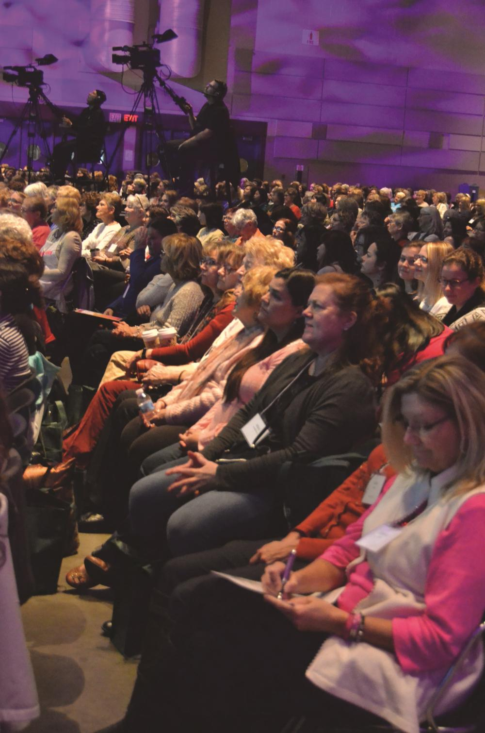 Diocesan Women's Conference draws big crowd