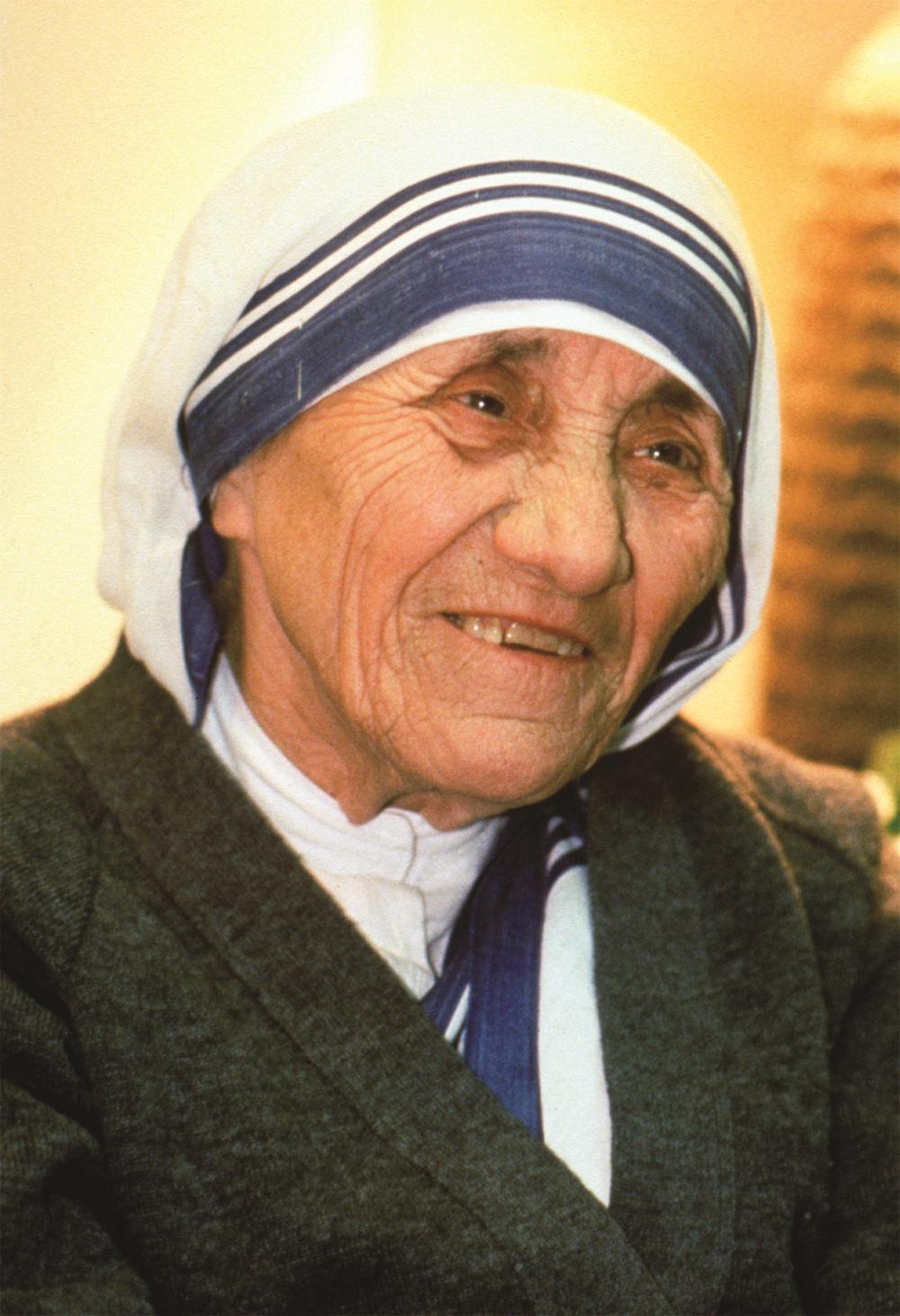 Lessons from the path to holiness: take up your cross Blessed Teresa of Calcutta