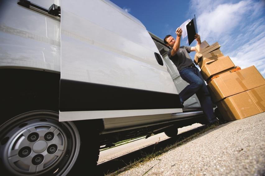 Always the package schlepper – never the driver
