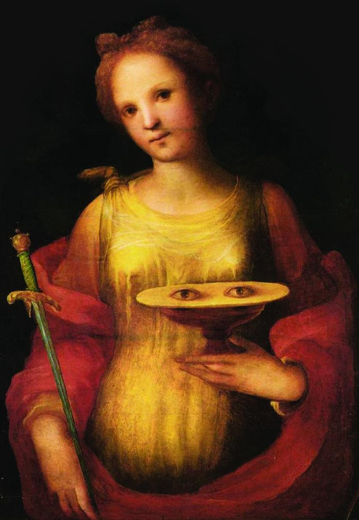 Be Courageous St. Lucy