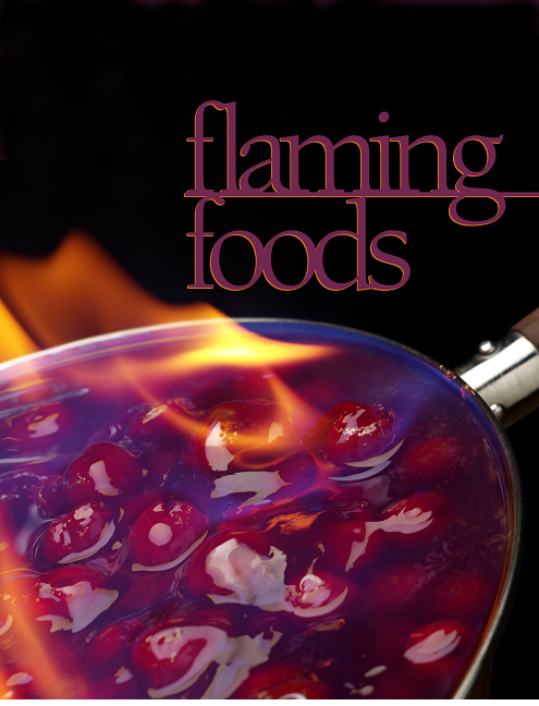 Flaming foods put us in the spirit for the Holy Spirit