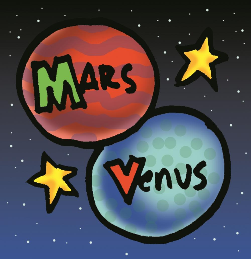 Are guys really from Mars and girls from Venus?