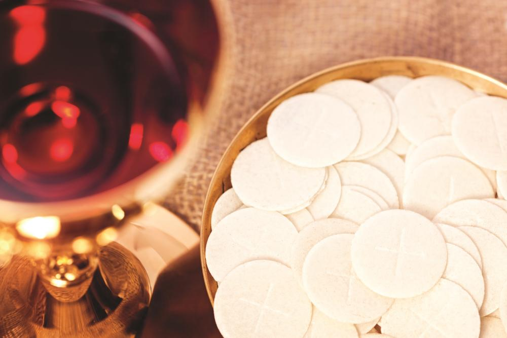 Encountering Christ in the sacrament of the Eucharist